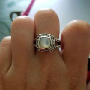 DAVID YURMAN Petite Albion Mother Of Pearl Ring